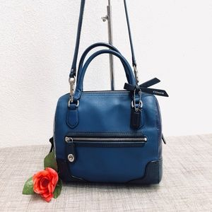 Coach Poppy Colorblock Mini Satchel - Style 49757
